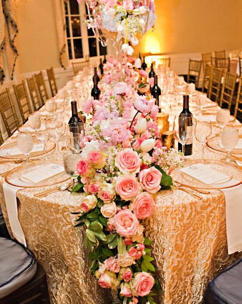 Modern Hollywood Glam Wedding - Celebrity Style Weddings