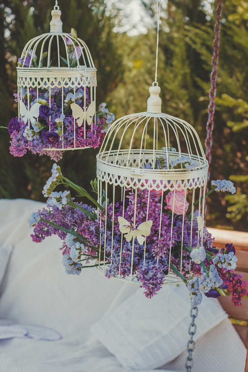 Will Bird Cages Forever Play A Role In Wedding Decor  Celebrity Style Weddings