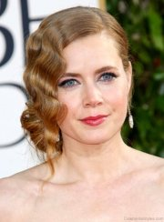 cool bun hairstyles of amy adams