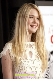 hairstyles of elle fanning