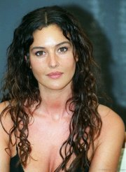 cool hairstyles of monica bellucci