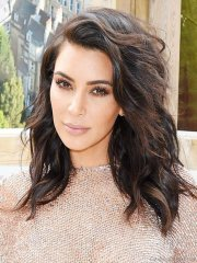 pretty hairstyles of kim kardashian