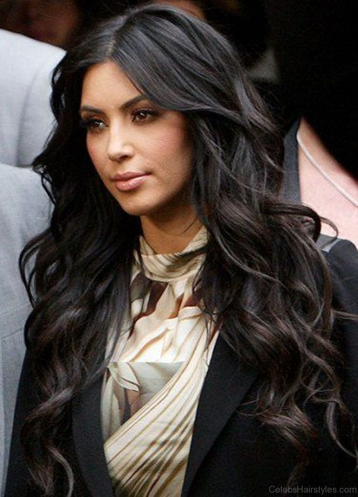 24 Pretty Hairstyles Of Kim Kardashian