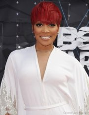 funky hairstyles of monica brown