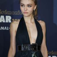 Lily-Rose Depp Stills at Cesar Film Awards in Paris