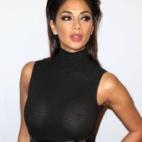 Nicole Scherzinger Stills at Clive Davis Pre-grammy Party in Los Angeles