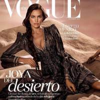 Irina Shayk Poses for Vogue Magazine, Mexico October 2017 Issue