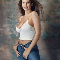 Nikki Cox Poses for FHM Magazine, 2001 Photos