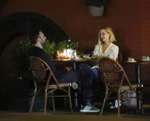Jennifer Lawrence And Cooke Maroney Dinner In