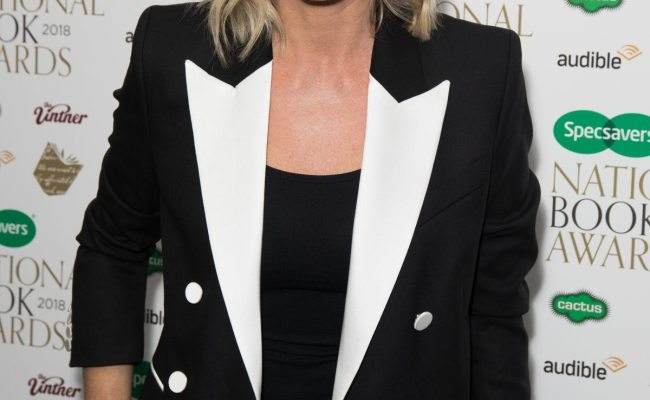Zoe Ball At Specsavers National Book Awards In London 2018