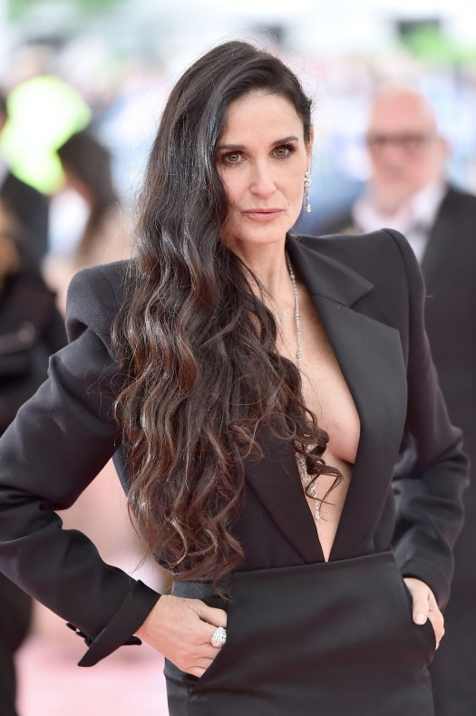 Demi Moore at The 2019 Met Gala Celebrating Camp: Notes on ...