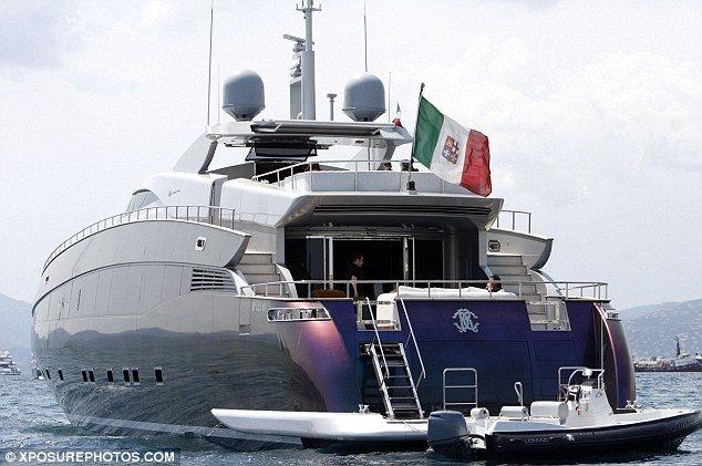 The Beckhams Borrow Roberto Cavallis Superyacht