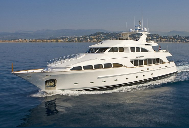 Sylvester Stallone On Superyacht Enchantress In French