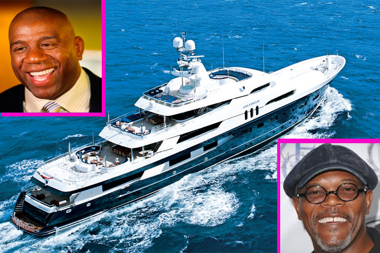 Inside Magic Johnsons Yacht 500k A Week Superyacht