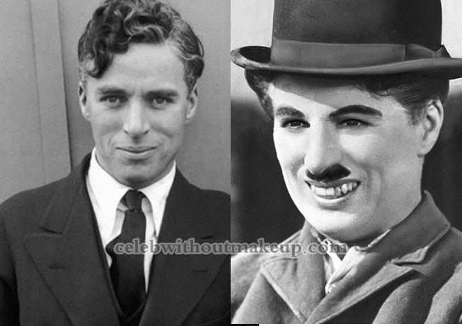 Charlie Chaplin No Makeup