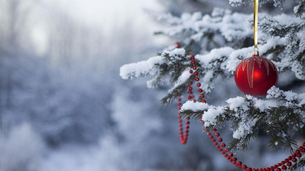 Christmas Wallpapers Winter Tree Snow Backgrounds