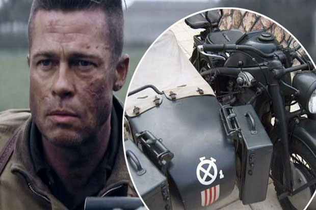 Brad Pitt Spends Almost 400000 On A Nazi Bike Celeb Zen