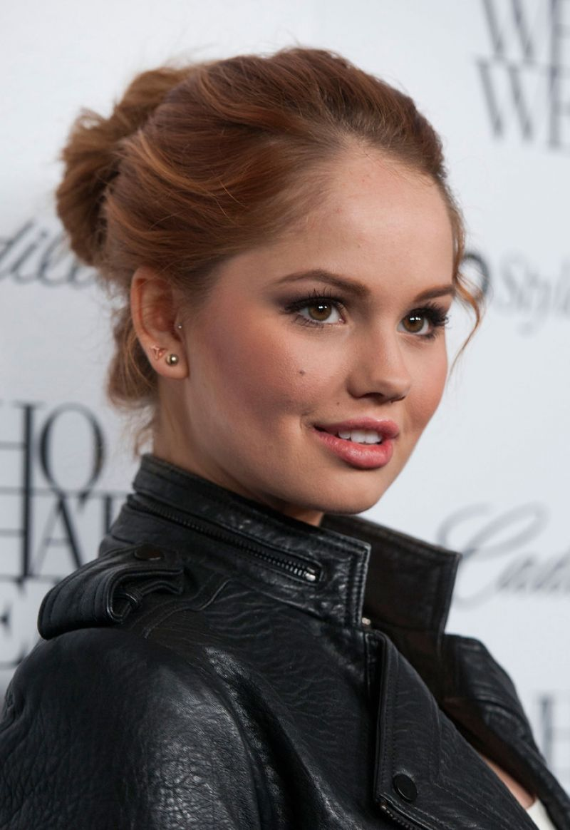 Debby Ryan At 50 Most Fashionable Women of 2013 Event In