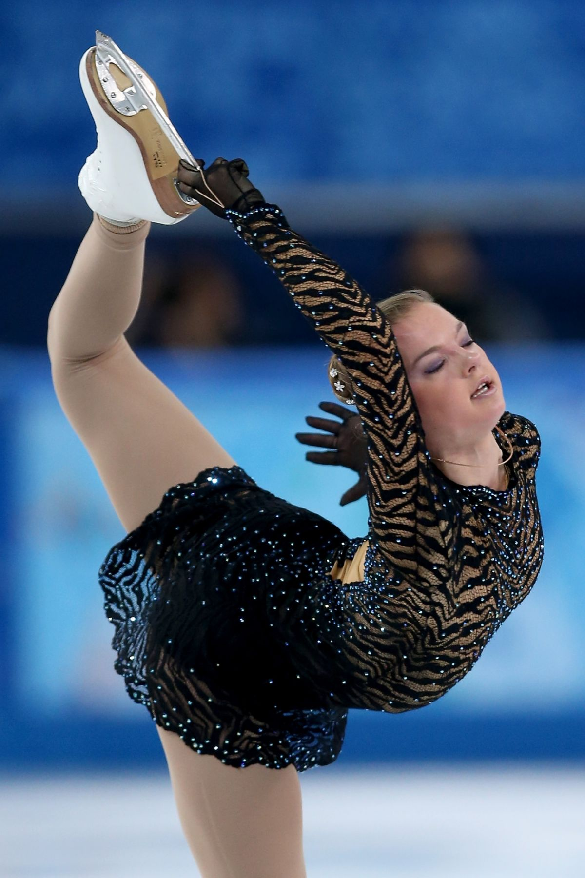 Natalia Popova At Sochi Winter Olympics