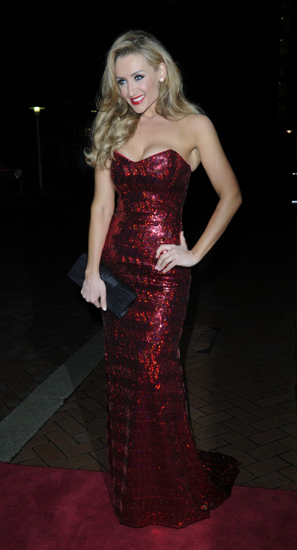 Catherine Tyldesley At The Mirror Ball In Manchester  Celebzz