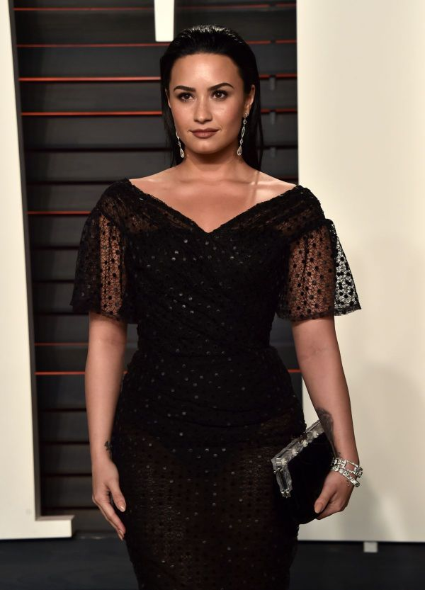 Demi Lovato Vanity Fair Oscars Party In Beverly