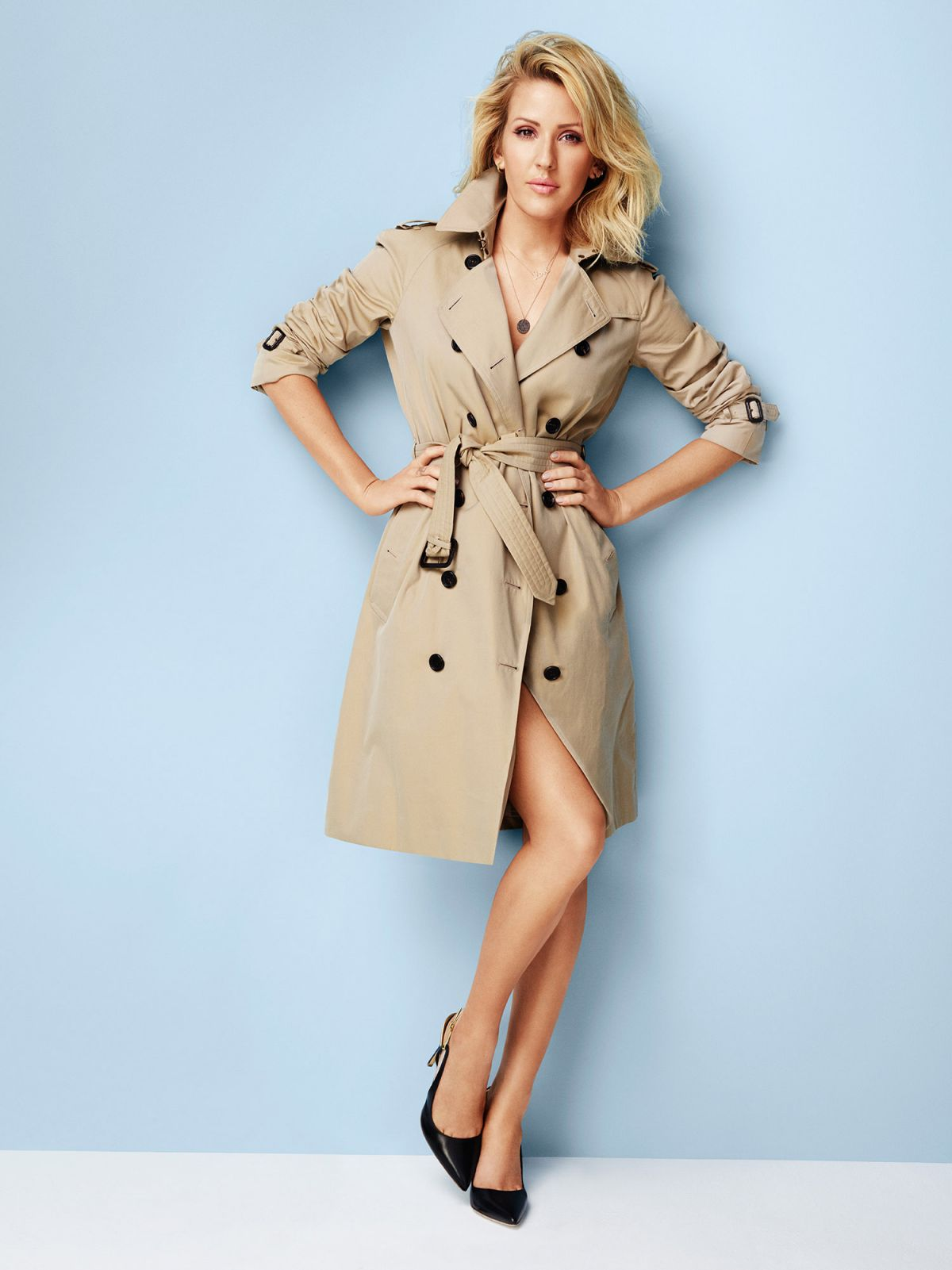 The Fall Bbc Wallpaper Ellie Goulding At Chris Craymer Photoshoot For Red March