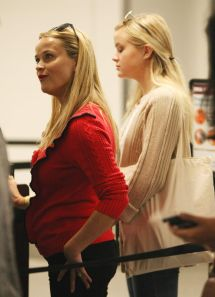 Reese Witherspoon And Daughter Arrive Lax Airport