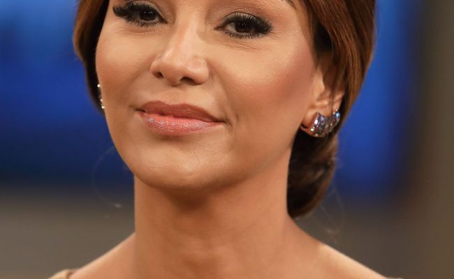 Verona Pooth At Ard Tv Talkshow Anne Will In Berlin
