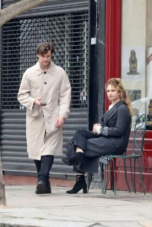 Lily James & Matt Smith Spend Time In Primrose