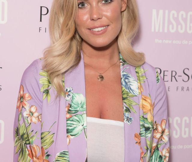 Chloe Meadows At Missguided New Fragrance Launch Party At Franks Bedroom At The Toy Room Club