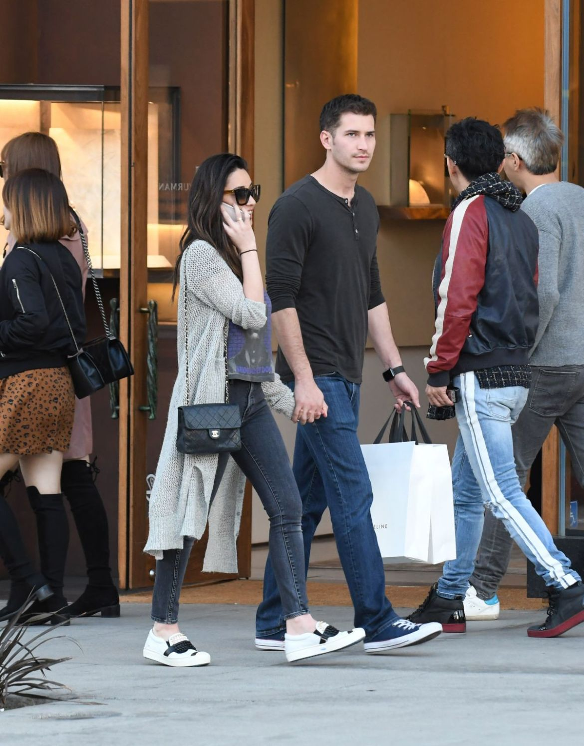 Olivia Munn Shopping in Los Angeles