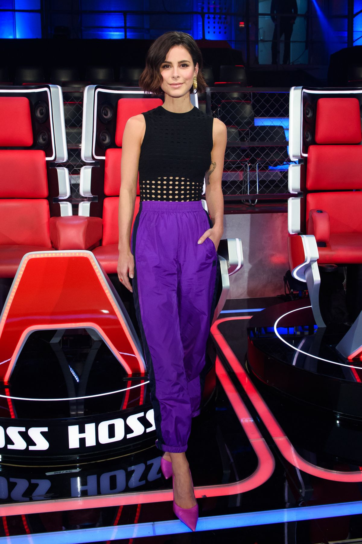 Lena MeyerLandrut At The Voice Kids 2019 in Berlin  Celebzz