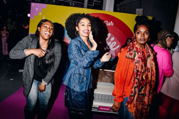 Yara Shahidi Barbie 60th Anniversary In York - Celebzz