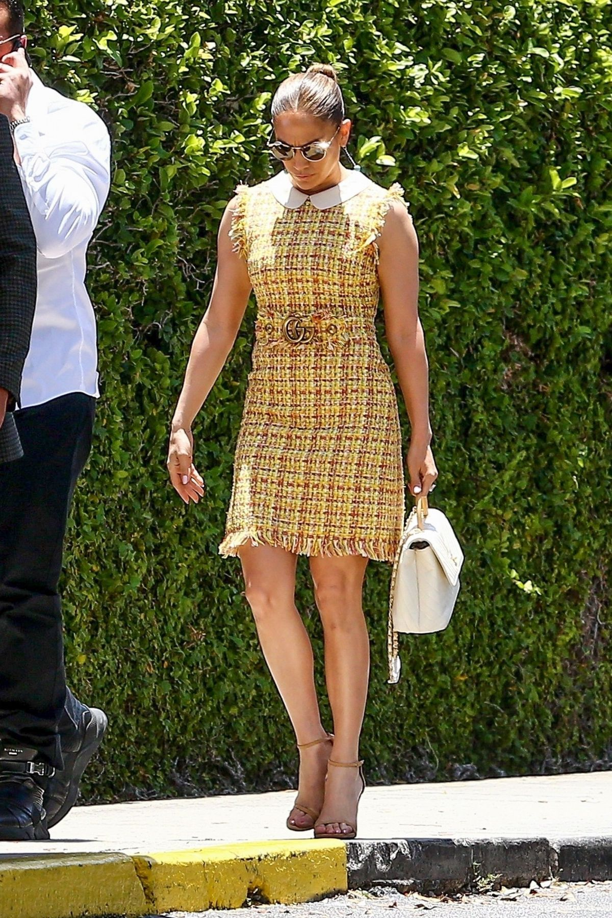 Jennifer Lopez and Alex Rodriguez display their chic style