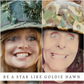How to be a star like Goldie Hawn