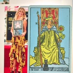 Goldie Hawn & The Queen of Wands