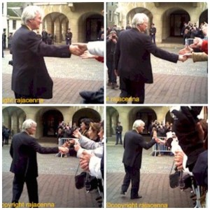 Richard Gere and fans