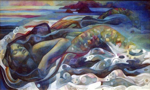 Sirena - Elisabetta Trevisan Artwork Celeste Network