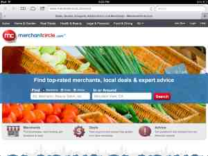 Small business marketing services on Merchant Circle
