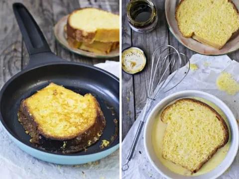Recette du pain perdu au four rapide et ultra facile à réaliser (healthy)