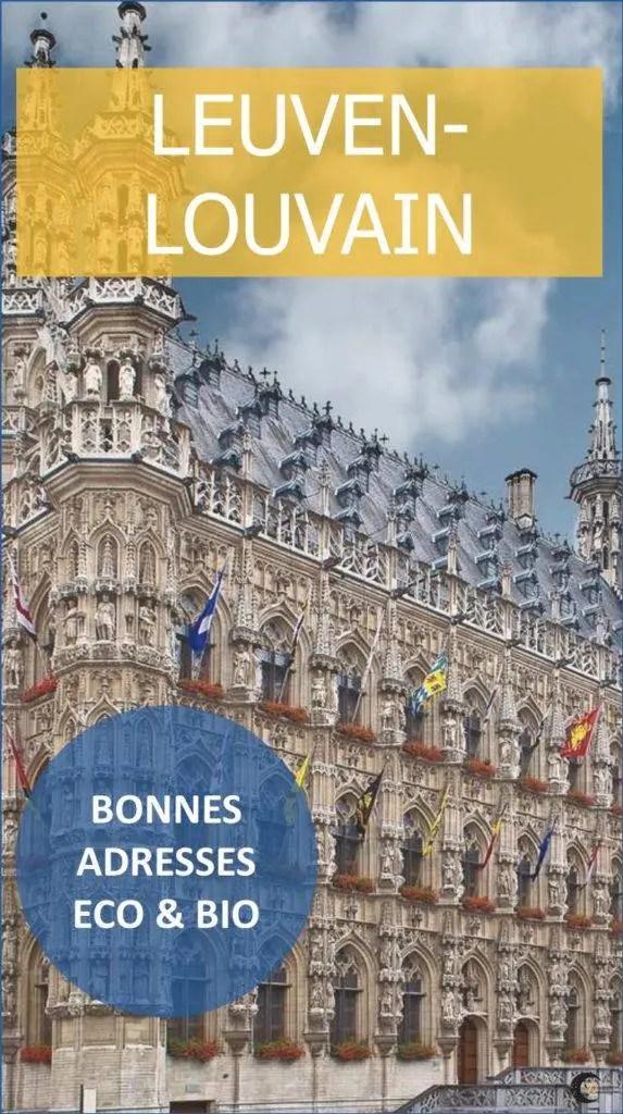 Bonnes adresses bio et écologiques à Louvain (Leuven)