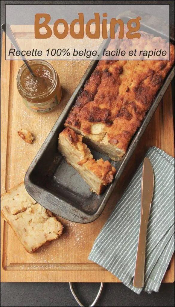 Recette traditionnelle de bodding bruxellois facile, rapide et 100% belge