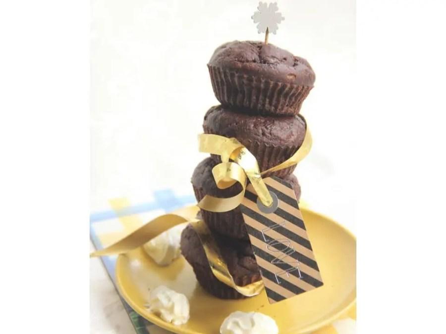 Recette de muffins choco-banane