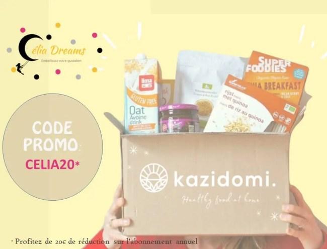 Kazidomi: mon avis sur cet eshop de produits sains et équilibrés (+ code promo)