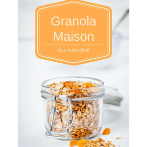 Granola maison crunchy aux fruits d'été