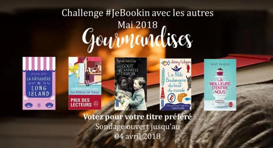 Club de lecture #JeBookin - Challenge #JeBookin avec les autres - mai 2018