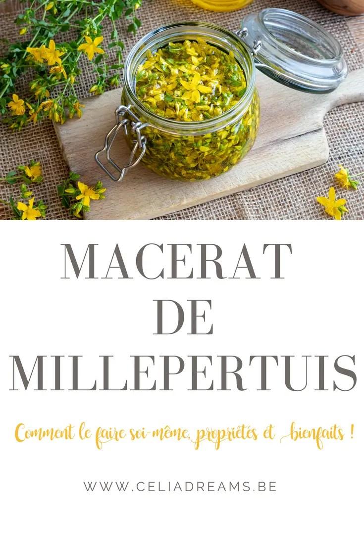 Apprener à faire votre ptopre macérât de Millepertuis - recette et DIY