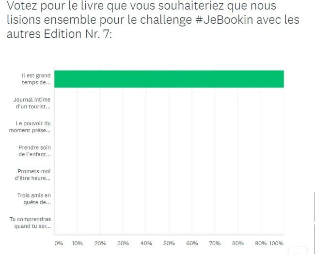 Challenge #JeBookin avec les autres - septembre 2018