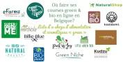Où faire ses courses green et bio en ligne en Belgique? (Liste d'eshops)
