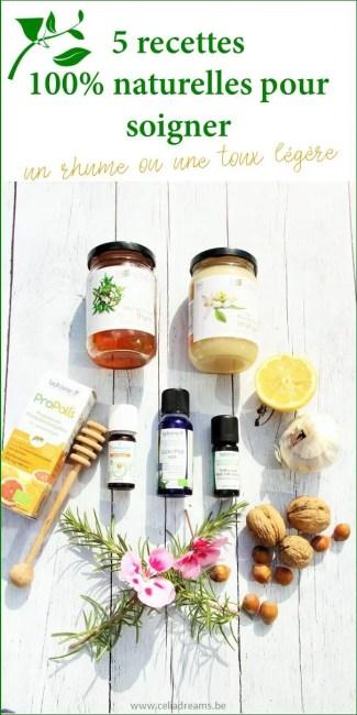 Comment soigner naturellement un rhume ou une toux naturellement